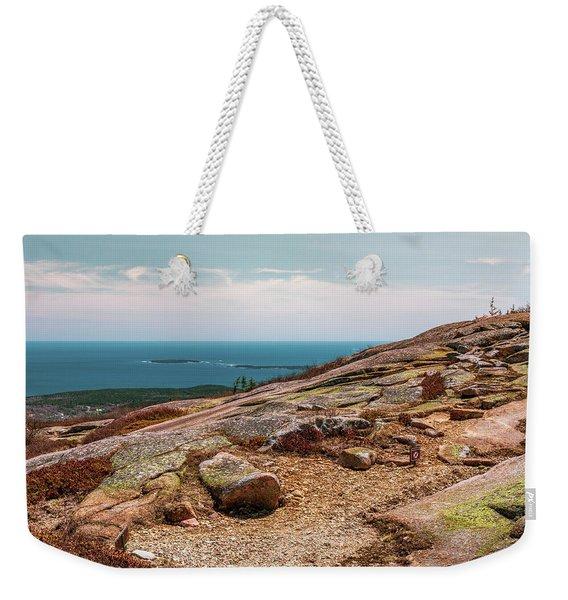 Acadia Np - Pink Cadillac Weekender Tote Bag