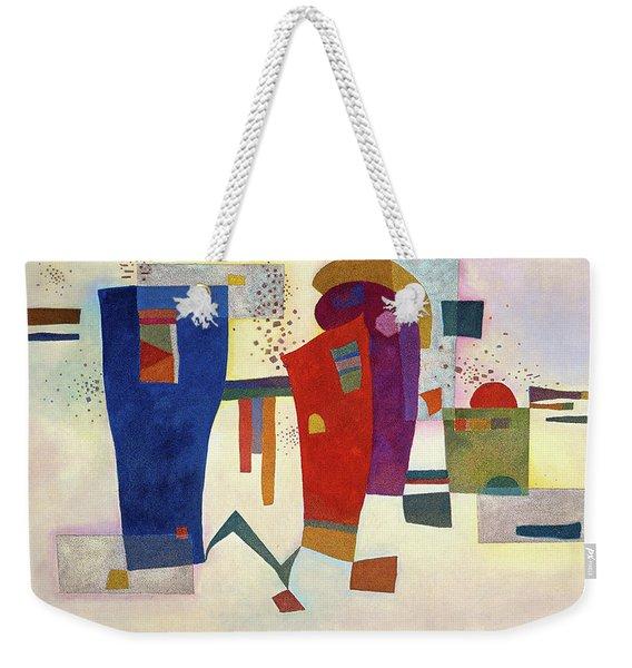 Accompanied Contrast, 1935 Weekender Tote Bag
