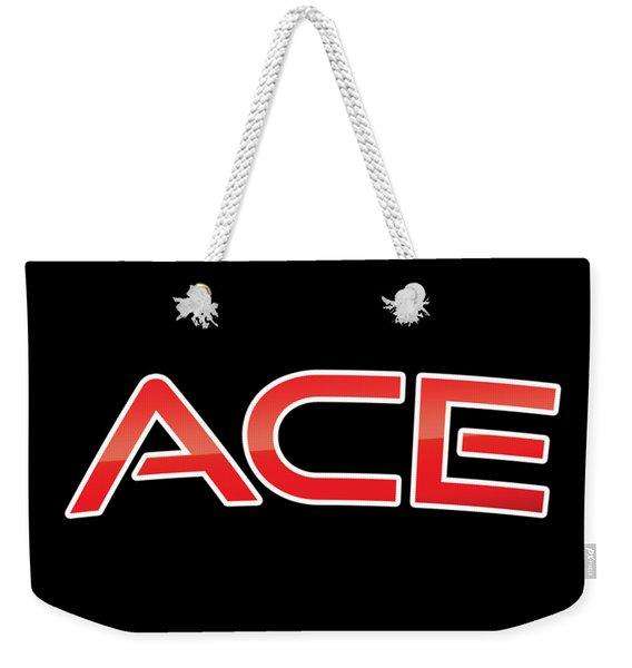 Ace Weekender Tote Bag