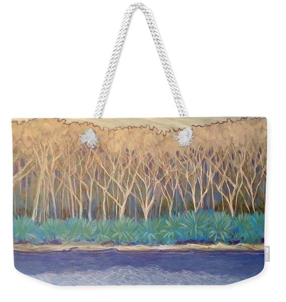 Across The Creek Weekender Tote Bag