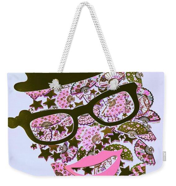 Actin Expressionism Weekender Tote Bag