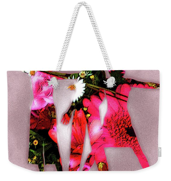 Ad Fashion Weekender Tote Bag