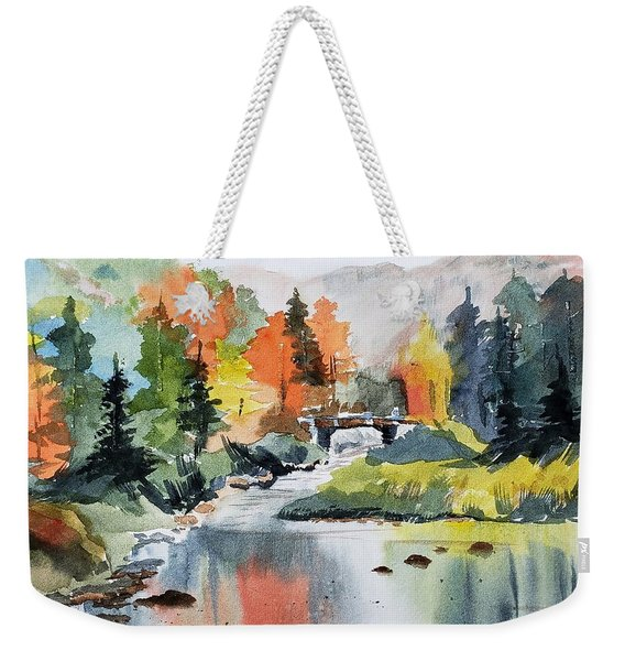 Adirondacks Of New York Weekender Tote Bag