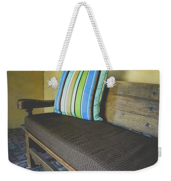 Adobe Casita Bench Weekender Tote Bag
