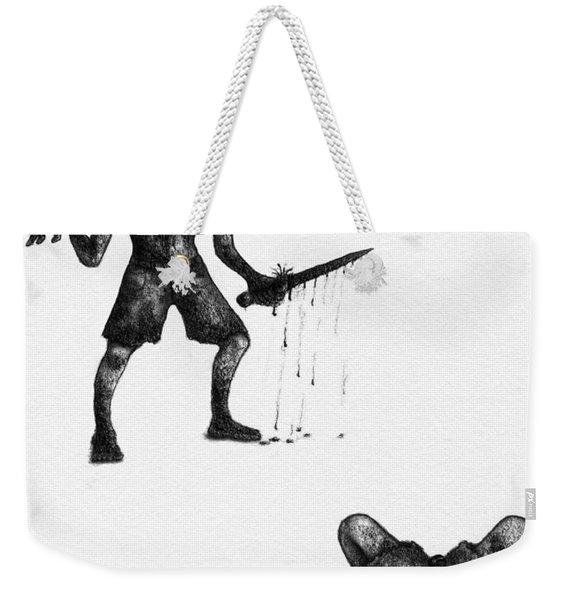 Adriano The Darkstalker - Artwork Weekender Tote Bag