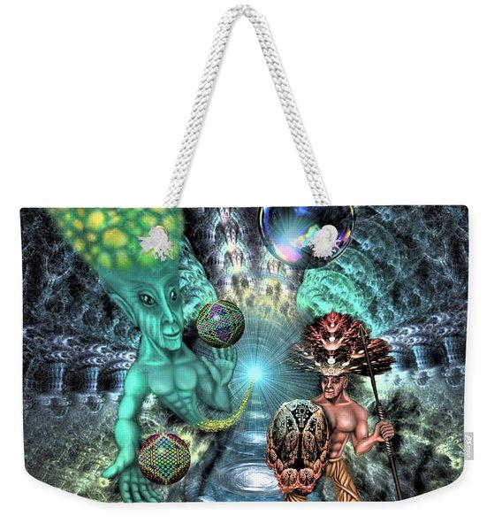 Aethereal Encounter Weekender Tote Bag