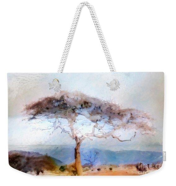African Journey Weekender Tote Bag