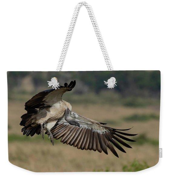 African White-backed Vulture Weekender Tote Bag