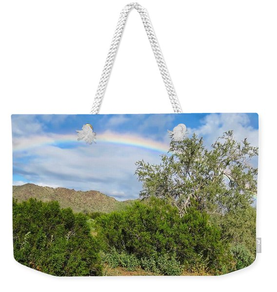 After An Arizona Winter Rain Weekender Tote Bag