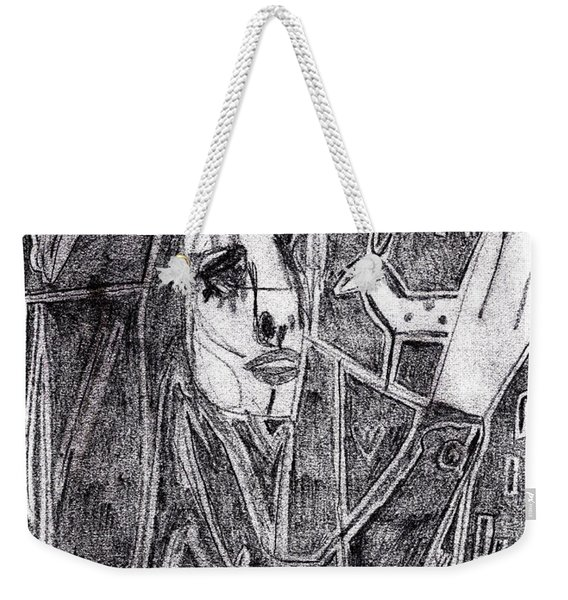 After Childish Edgeworth Pencil Drawing 10 Weekender Tote Bag