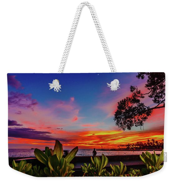 After Sunset Colors Weekender Tote Bag