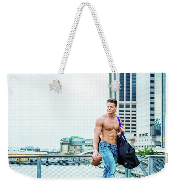 After Work Weekender Tote Bag