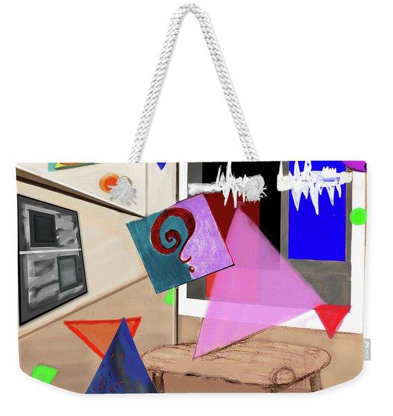 Afternoon At The Museum Weekender Tote Bag