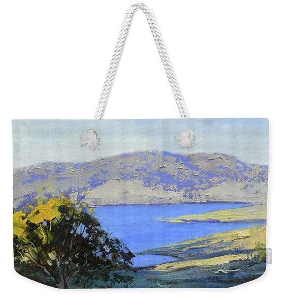 Afternoon Light Lake Lyell Weekender Tote Bag
