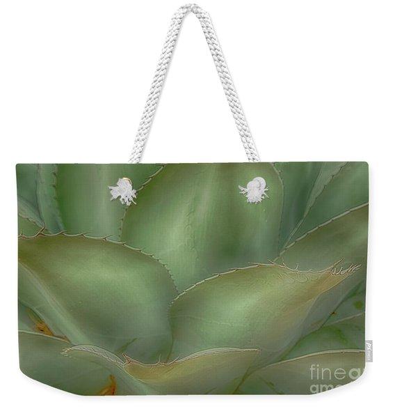 Agave Softened Weekender Tote Bag