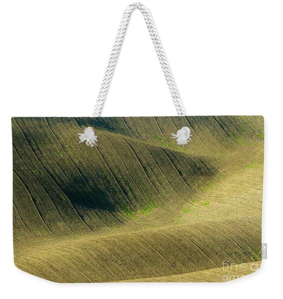 Agricultural Field Landscape  Weekender Tote Bag
