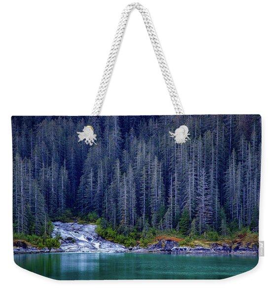 Alaskan Coastline Beauty Weekender Tote Bag