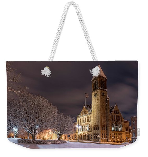 Albany City Hall Weekender Tote Bag
