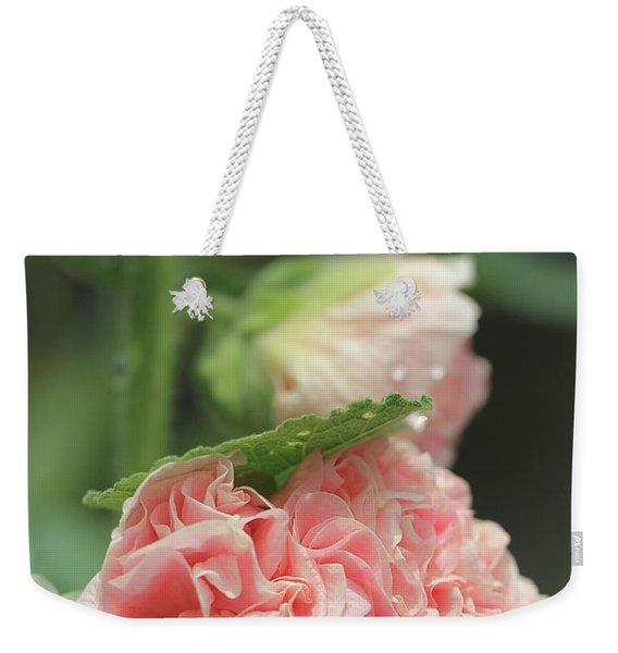 Alcea Rosea Weekender Tote Bag