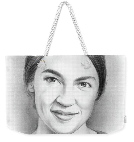 Alexandria Ocasio-cortez Weekender Tote Bag