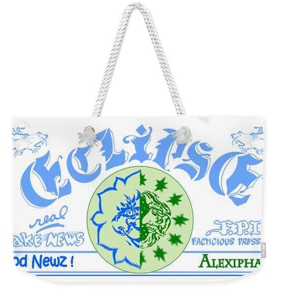 Alexipharmic Edition Title Block Weekender Tote Bag