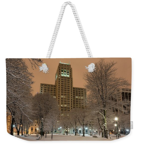 Alfred E. Smith Building Weekender Tote Bag