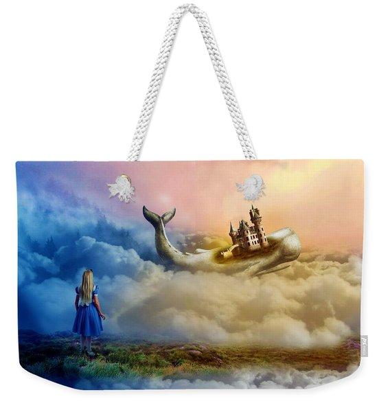Alice's Adventures In Wonderland Weekender Tote Bag