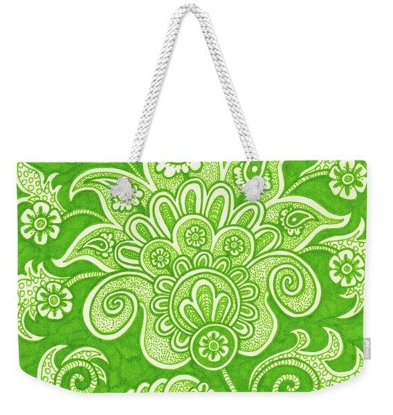 Alien Bloom 4 Weekender Tote Bag