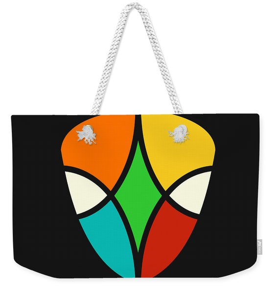 Alien Falcon Weekender Tote Bag