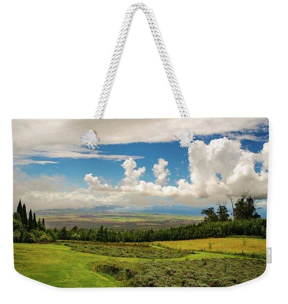 Alii Kula Lavender Farm Weekender Tote Bag