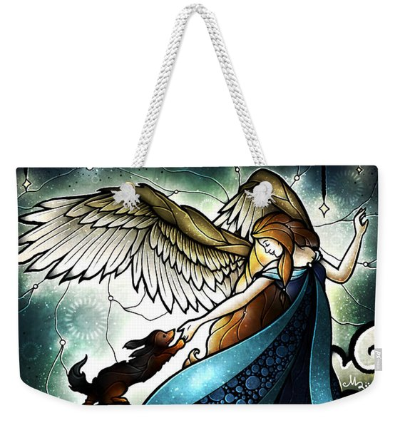 All Dogs Do Go To Heaven Weekender Tote Bag