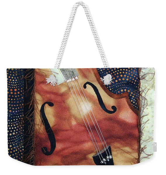 All That Jazz Bass Weekender Tote Bag