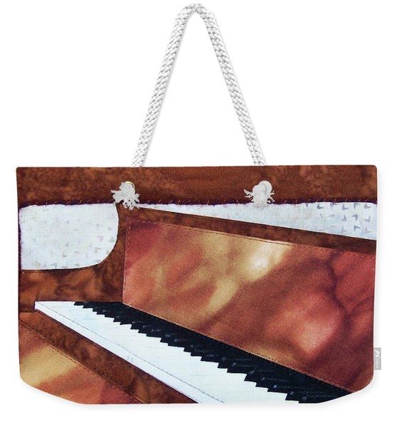All That Jazz Piano Weekender Tote Bag