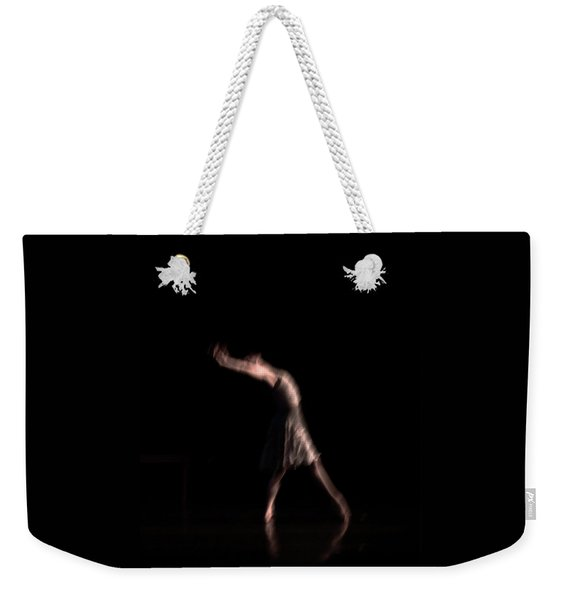 Weekender Tote Bag featuring the photograph Allegra by Catherine Sobredo