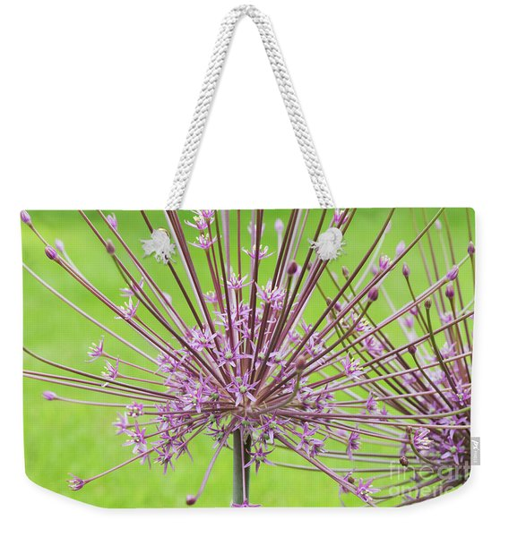 Allium Schubertii Flower Weekender Tote Bag