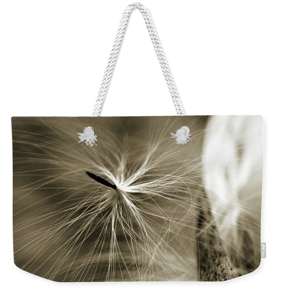 Weekender Tote Bag featuring the photograph Almost by Michelle Wermuth