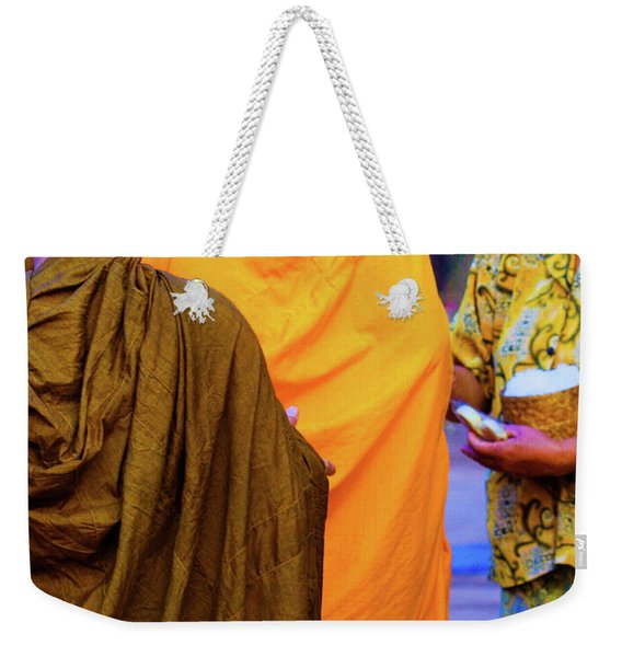 Alms For The Monks Weekender Tote Bag