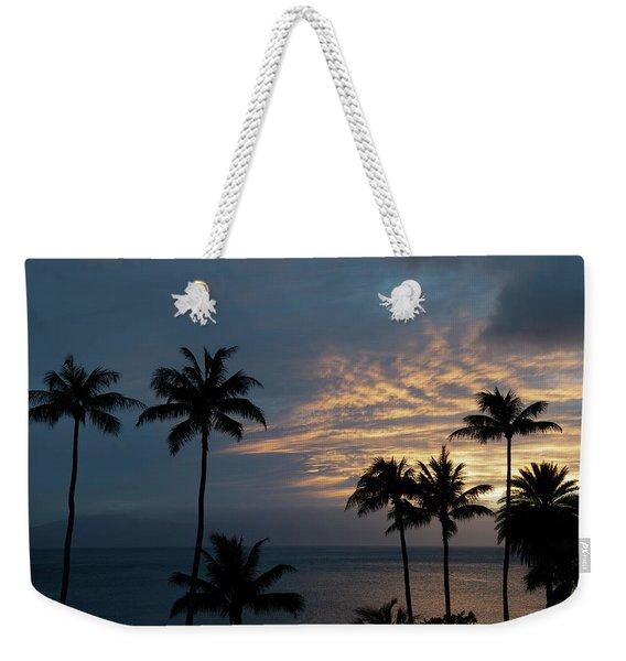 Aloha And Goodbye Weekender Tote Bag