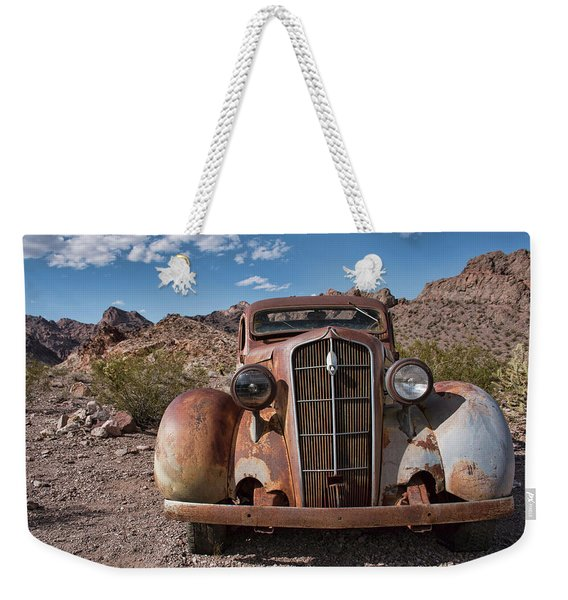 Alone In Nelson  Weekender Tote Bag