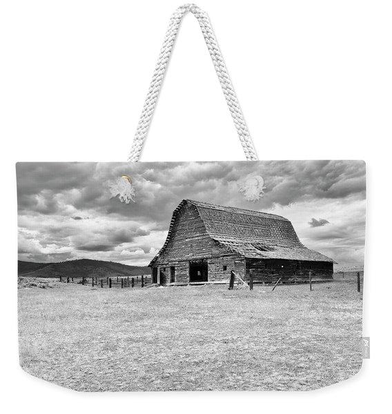 Alone On The Prairie Weekender Tote Bag