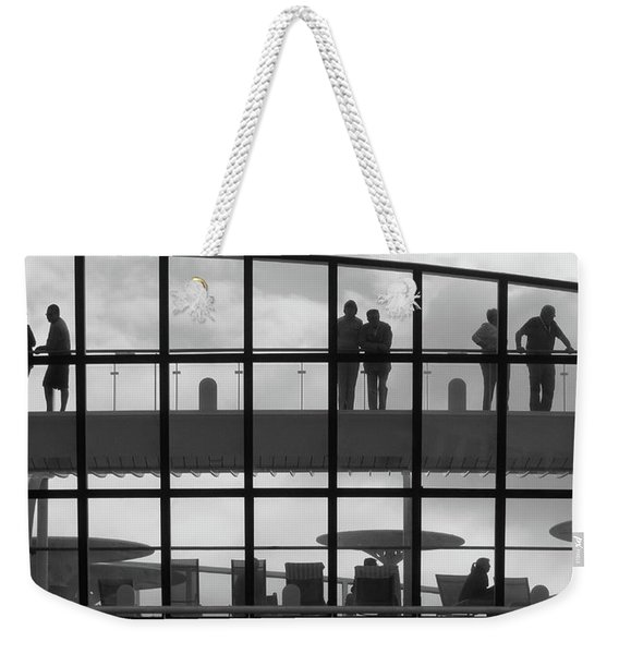 Alone. Together Weekender Tote Bag
