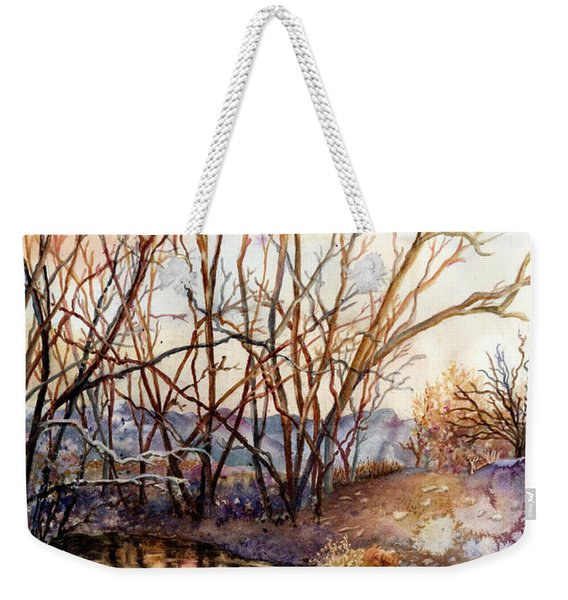 Along Boulder Creek Weekender Tote Bag