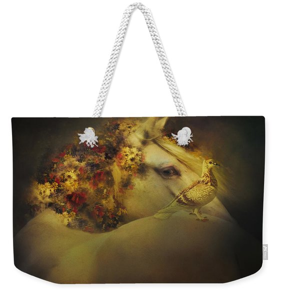 Along For The Ride Weekender Tote Bag