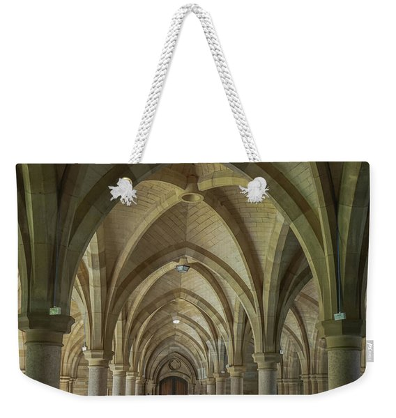 Along The Cloisters Weekender Tote Bag