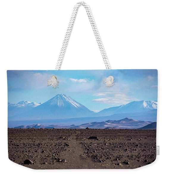 Along The Inca Trail In The Atacama Desert Weekender Tote Bag
