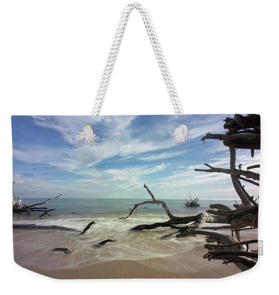Along The Sand Weekender Tote Bag