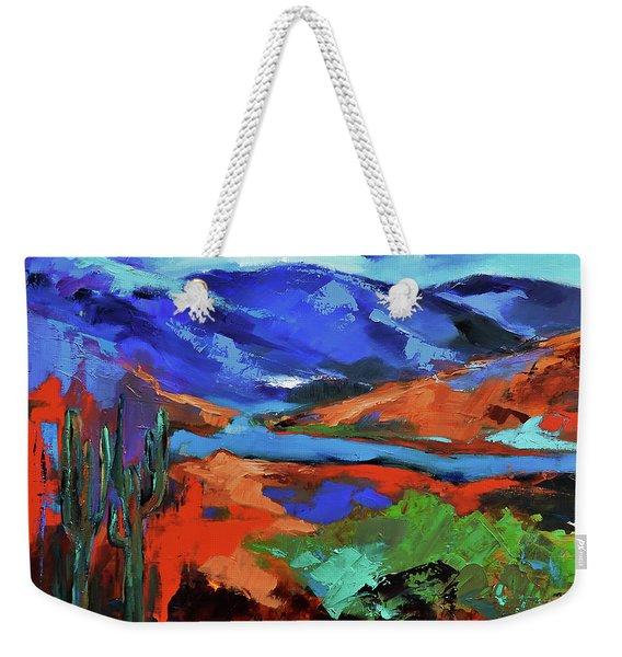 Along The Trail - Arizona Weekender Tote Bag