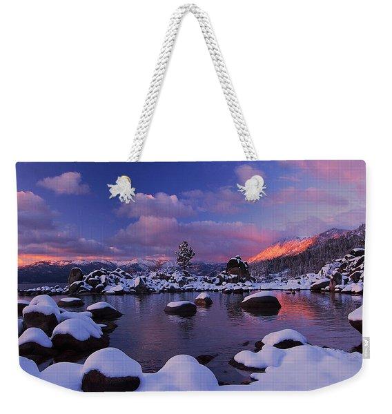 Alpenglow Visions Weekender Tote Bag