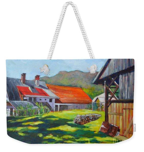 Alpine Living Weekender Tote Bag