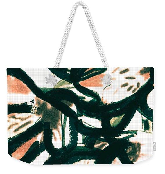 Alstroemerias Weekender Tote Bag